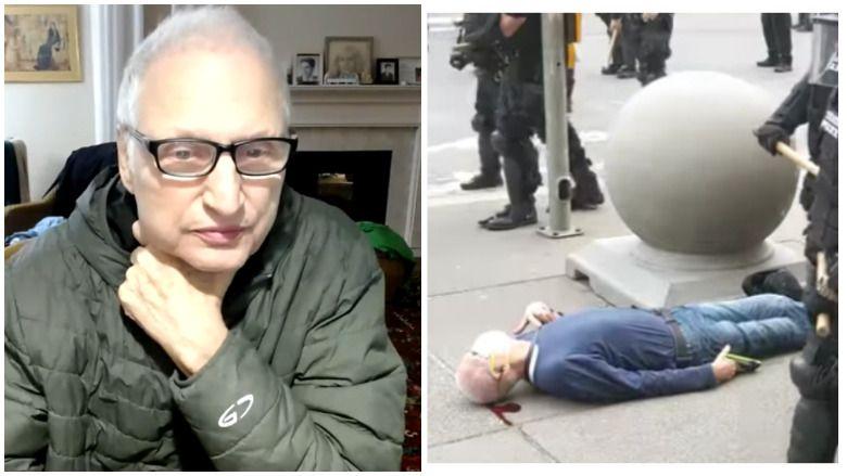 Martin Gugino nimetati Buffalo, New Yorgi, politsei poolt videosse lükatud meheks