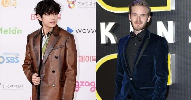 """Pewdiepie laimi """"gražiausią 2020 m. Veidą"""", kai Taehyungas yra antras, BTS gerbėjai supykę dėl rasistinio """"Twitter"""" karo"""