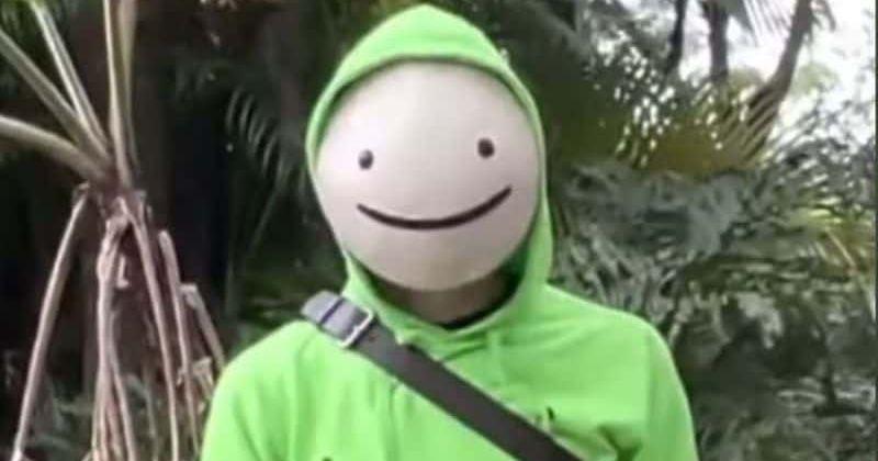 O YouTuber Dream não revelou seu rosto no 'YouTube Rewind' de MrBeast, mas os fãs recebem a tendência de #NeckReveal