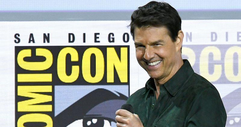 Os filhos de Tom Cruise, Isabella e Connor, considerados as estrelas em ascensão do mundo da Cientologia