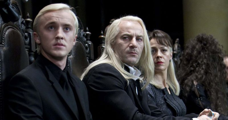 Os fãs de Harry Potter reúnem a família Malfoy enquanto Jason Isaacs e Tom Felton compartilham dicas para combater o tédio da quarentena