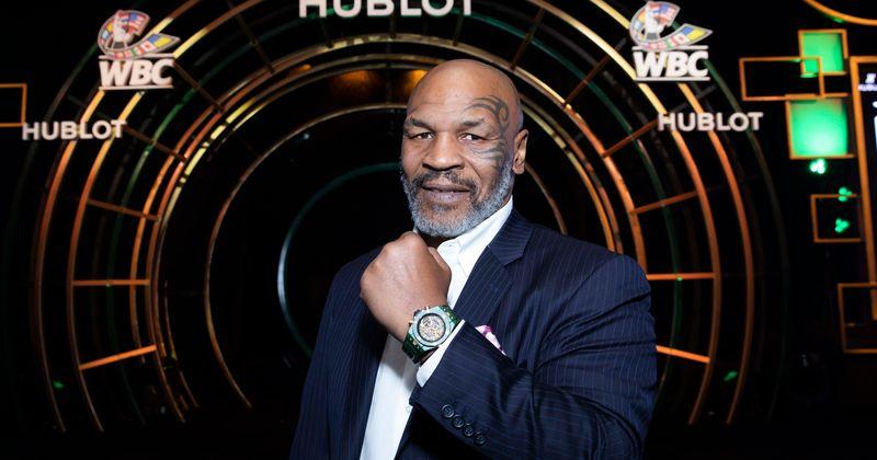 Mike Tyson forçado a vender seu tigre de bengala de estimação depois de 16 anos porque ela 'arrancou o braço de alguém'