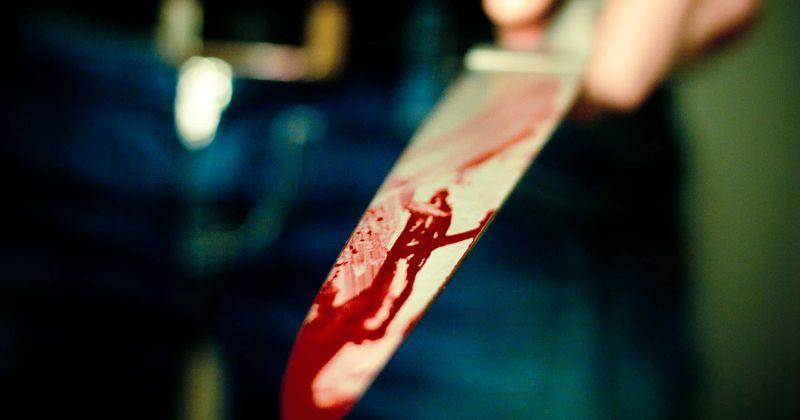 Žena koja je nožem izbo dečka pronađena je kako mirno puši cigaretu dok je ležao krvav pokraj nje, kaže policija