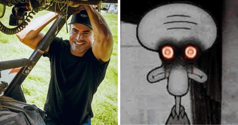 Zac Efron fez cirurgia plástica? O visual recente do ator fez os fãs dizerem 'ele se parece com o Belo Lula Molusco'