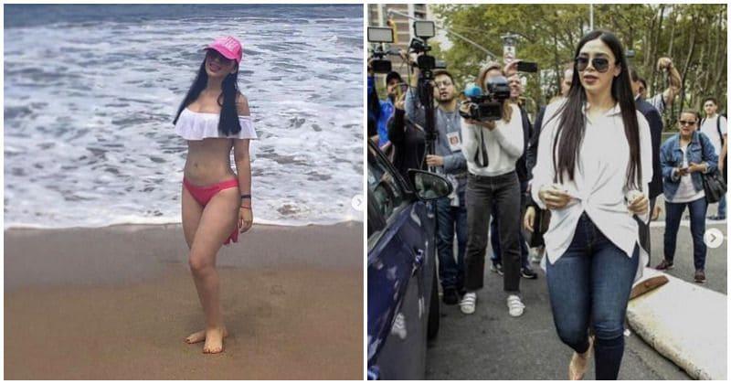 A esposa de El Chapo exibe um estilo de vida extravagante e luxuoso nas redes sociais enquanto ele se prepara para enfrentar o julgamento por 17 acusações