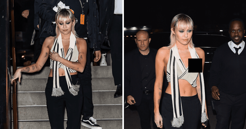 Miley Cyrus é dona do mau funcionamento de seu guarda-roupa ao postar uma foto de um nip slip, nos lembra por que ela é tão icônica