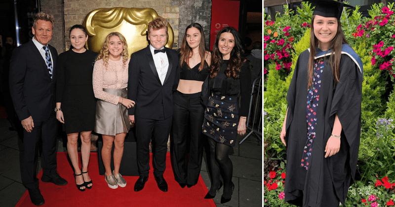 Gordon Ramsay revela que sua filha Megan é o primeiro membro da família a se formar na universidade: 'O trabalho duro compensa!'