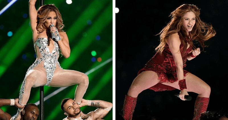O ato de Shakira e J-Lo de 'sacudidela extrema' no Super Bowl recebe 1.300 reclamações da FCC: 'Era pornografia suave'