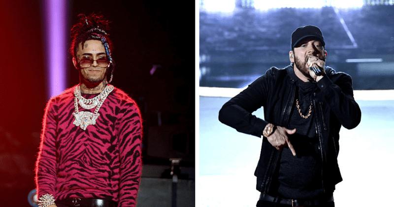 Lil Pump chama Eminem de 'idiota', Internet bate resmungando rapper e diz 'fique na sua pista'