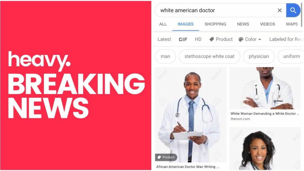 Por que a pesquisa de 'White American Doctor' leva a imagens de médicos negros
