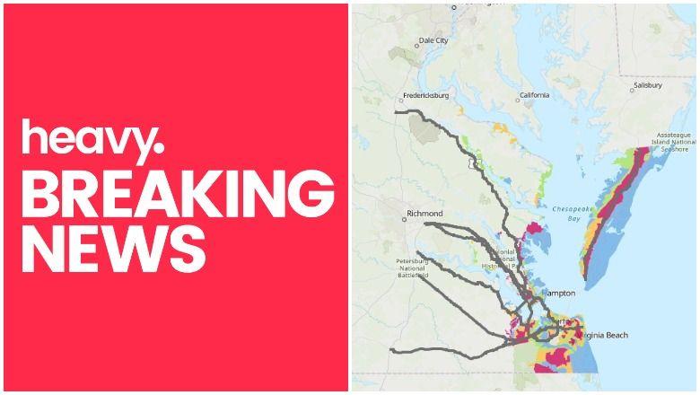Мапе евакуације Вирџиније, руте и зоне за ураган Флоренце